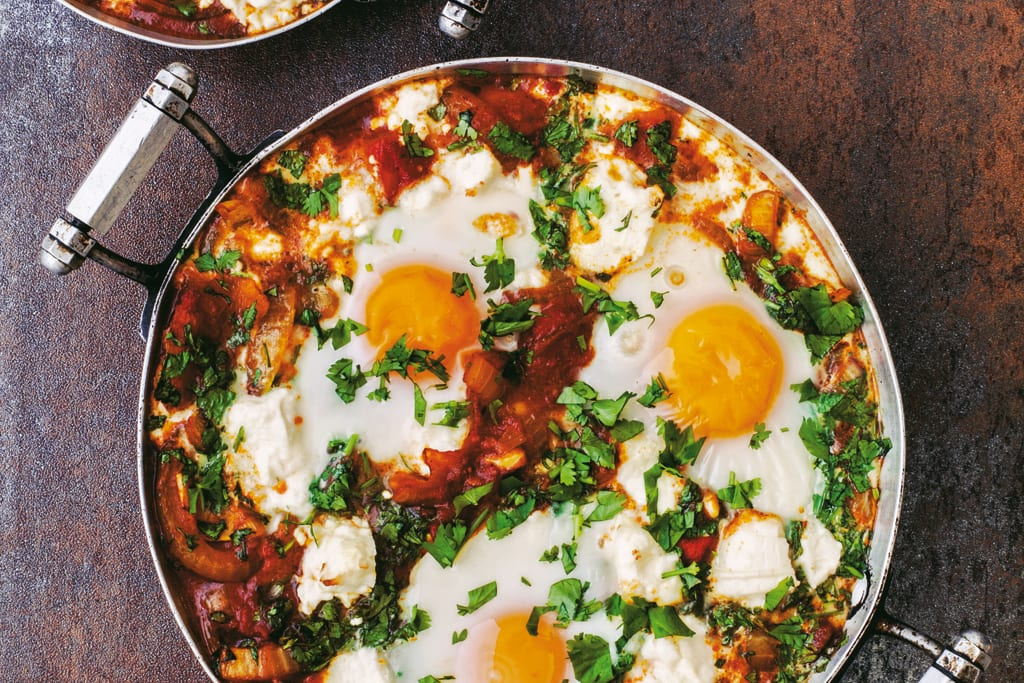 Baked Eggs and Feta